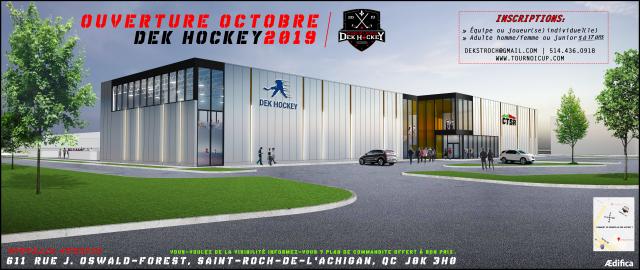 News - Tournoi CUP et Dek Hockey / St-Roch-de-L'achigan