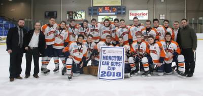 Aa Hockey In John Midget N.b Saint Tournament